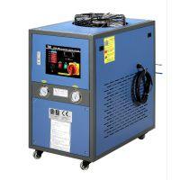广州市德力1匹冷却水循环机 5匹风冷式冷水机