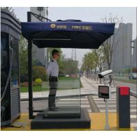 南京不锈钢双层站岗台物业户外迎宾台接待台售楼处保安礼宾台咨询台