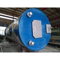 小区生活污水处理泵站 雨水污水排水排涝一体化预制泵站