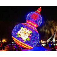 上海驰威一家专业做灯光节展览的公司 灯光展美陈亮化