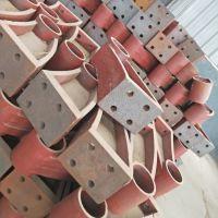 牛角型桥梁护栏支架销售方法A怀宁县陆韵支架批发零售均可