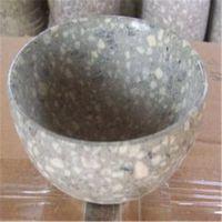 供应12*7.5CM麦饭石杯 河北灵寿产地麦饭石茶具