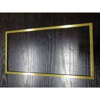 装饰框 现代创意橱柜家具五金装饰框 木门家具装修正方形装饰框