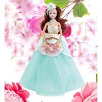 儿童仿真女孩创意公仔娃娃玩具婚纱礼盒装乐馨儿6376A-41