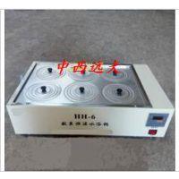 中西(LQS厂家)数显恒温水浴锅 型号:HH-6库号:M332233