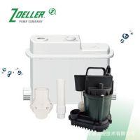 美国卓勒庭院别墅地下室污水提升器台盆浴室研磨粉碎提升泵119