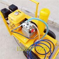 汽油动力冷喷划线机 多功能小型标线机 施安厂家直销