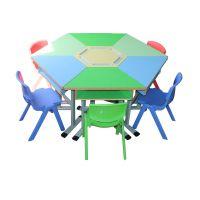 组合学习课桌椅 ,小学课桌椅,型号KXY-3372,学习活动桌,厂简约现代金属好椅达台