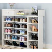 门口鞋柜简易经济型简约现代门厅柜玄关白色鞋柜大容量储物柜