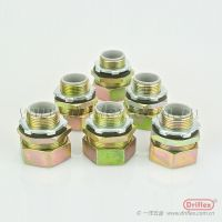 Driflex铁接头 镀五彩锌软管连接头 金属软管接头