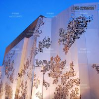 供应惠州外墙造型铝单板 幕墙门头装饰镂空雕花铝单板定制
