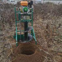 小型立杆式挖坑机价格 佳鑫植树打坑机 多功能钻眼机