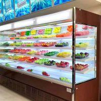 水果店超市风幕柜 保鲜柜 风幕柜多少钱一米