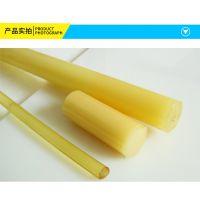专业生产PU棒 耐磨聚氨酯棒 高弹性优力胶牛筋棒 各规格PU橡胶棒
