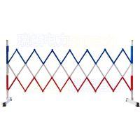 供应硬质玻璃钢双层管式Φ24mm片式绝缘伸缩围栏电力安全围栏 伸缩式安全围栏 变压器护栏可定做