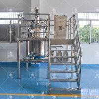 南洋称重配料罐不锈钢全自动称重系统高效混合搅拌夹层反应锅质量保证规格齐全