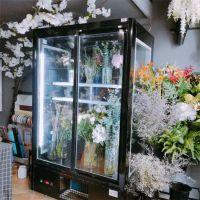 河南鲜花柜价格 风冷鲜花保鲜柜展示柜厂家