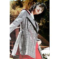 广州法尔莎女装折扣多种风格正品批发一件代发折扣大码女装 北京大品牌服装尾货批发市场在哪里银色连衣裙