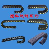 汇科机床附件厂家直供消音型工程塑料拖链 机械手电缆拖链 质量可靠