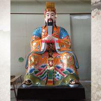 供应玉皇大帝王母娘娘坐像 佛像厂家 玻璃钢神像