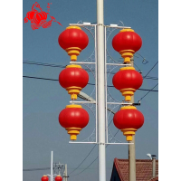 亚克力灯杆灯笼LED亮化灯笼pvc材质防雨防晒不易掉色