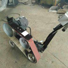 推车式平板砂带磨削机 手推式焊缝抛光机 济宁安源小型砂带机