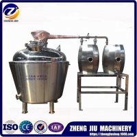可定制朗姆酒蒸馏设备、白酒烤酒设备、紫铜蒸馏设备