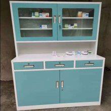 山西中药柜诚招代理 加厚钢制中药橱 中西药柜调剂台