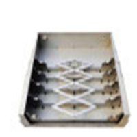 宁波数控高速端面铣床伸缩钢板防护罩