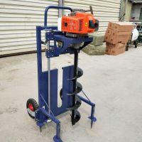 螺旋手提式植树挖坑机 金佳加长钻头挖坑机 葡萄园大棚建设打桩机