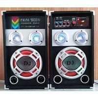 特价供应6.5寸DJ有源蓝牙带灯外接12V音响店铺宣传家用音箱可定制