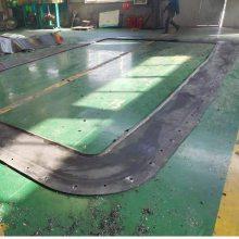 矩形盾构机、顶管机始发帘布橡胶板设计图纸如何进行设计生产