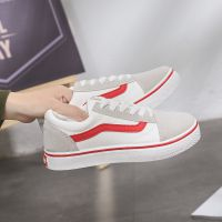2017春季新款韩版街拍情侣帆布鞋女学生原宿鞋子休闲板鞋代发批发