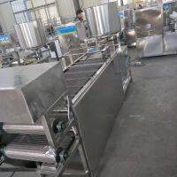 豆腐皮机器报价和实图 自动卤水干豆腐设备
