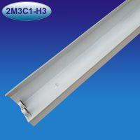 诺曼1.2米教室灯黑板灯双管支架LED黑板灯支架LED侧发光双管支架