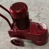 手扶式水磨石机 常青小型电动水磨石机 水泥地面打磨抛光机