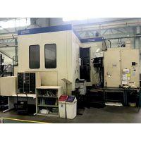 二手全闭环日本原装进口东芝五轴卧加 BMC-1000 五轴联动加工中心