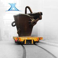 非标定制 电动轨道遥控小车 运输铁板轨道供电平板车