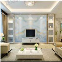 5D大型壁画高档石材大理石纹电视背景墙墙布