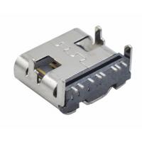 type-c (各pin数纯铜/铁均有喔) usb 3.1连接器type c板上快充座
