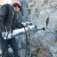 河北沧州矿山岩石劈裂机一天可以劈裂多少石头厂家报价