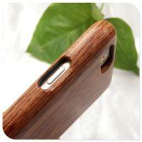 创意实木手机壳适用苹果花梨木保护套可私人定制雕刻LOGO及图案