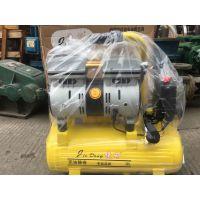 无油气泵空压机小型空气压缩机牙科充气静音220V木工喷漆四川成都