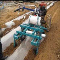 宽幅土豆喷药覆膜机 保温塑料盖膜机 花生专用铺膜机