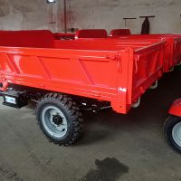 山东销售陡峭地形可使用的工程三轮车 载重两吨的新型三蹦子