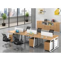 定制职员办公桌椅组合4人位员工电脑桌隔断卡座简约现代办公家具