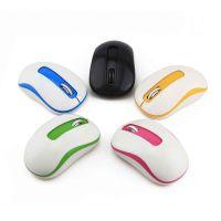 批发迷你办公无线鼠标笔记本电脑配件女生便携滑鼠mouse 一件代发