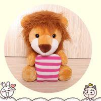 仿真动物狮子批发毛绒玩具公仔定制一件代发促销赠品圣诞摆件礼品