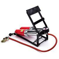 多用脚踩打气筒双管高压车载充气泵脚踏便携式打气机