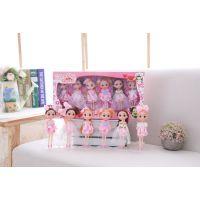批发迷糊娃娃娃娃亲子款礼盒女童生日礼物 一件发货